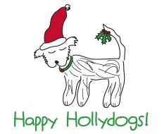 Happy Hollydogs for website